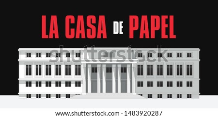 the house of paper building