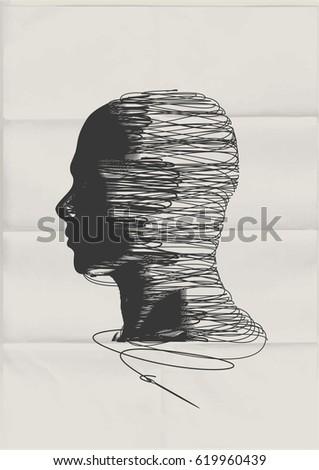 the human mind the shape of a