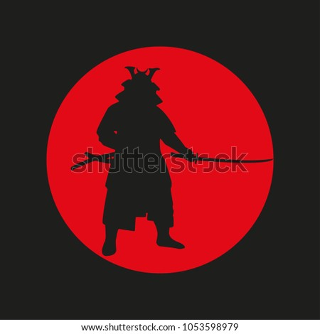 the image of the samurai