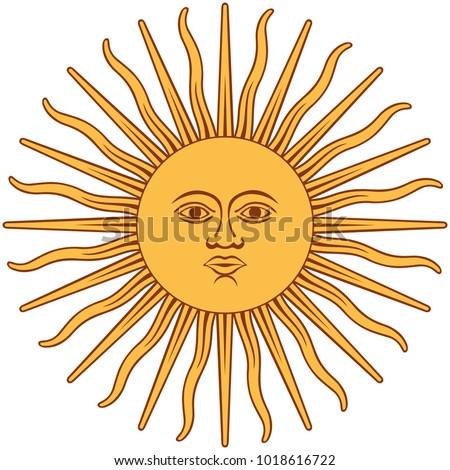 the inca sun god inti sun of