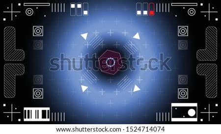 the interface of a spacecraft