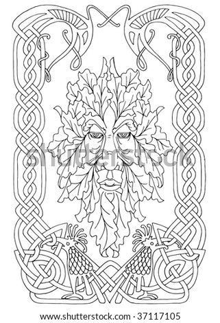 Celtic Greenman Patterns Patterns For You