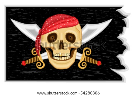 the jolly roger   pirate black
