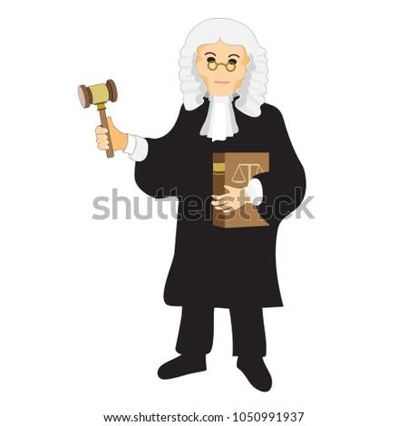 the judge  cartoon character