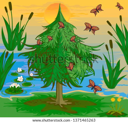 the lake s flora and fauna in