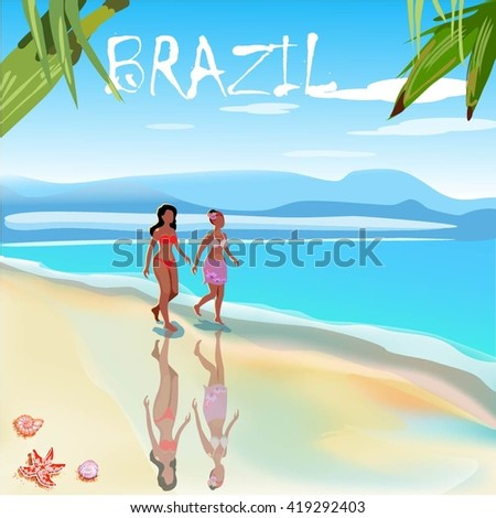 the landscape of brazil travel