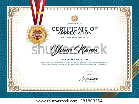 premium certificate design vector template download free vector