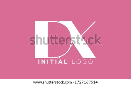 the letters d and x combined