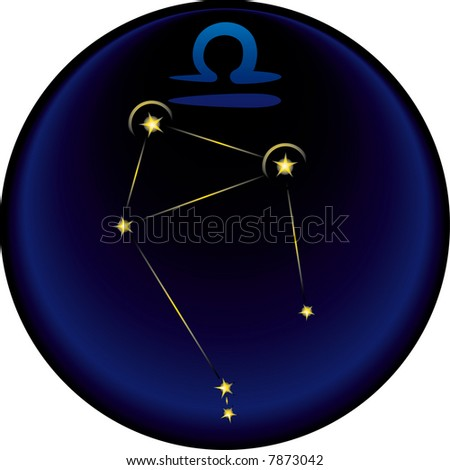 the Libra  constellation plus the Libra  astrological sign