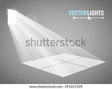 the light rays pass through the