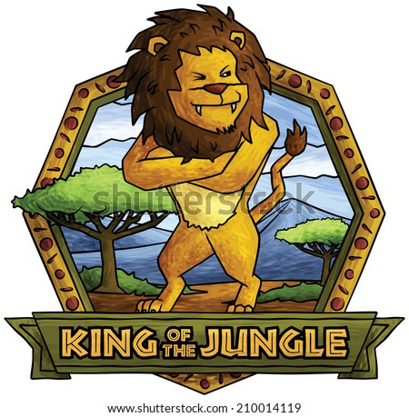 the lion   king of the jungle