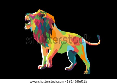 the lion the king of the jungle