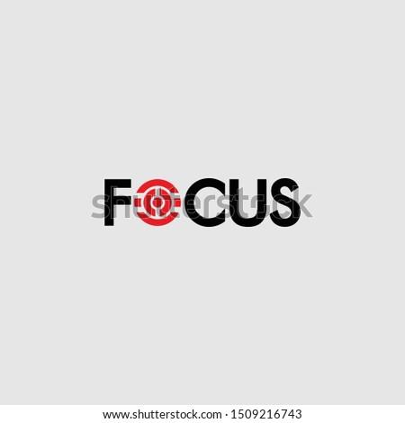 The logo initials focus is simple