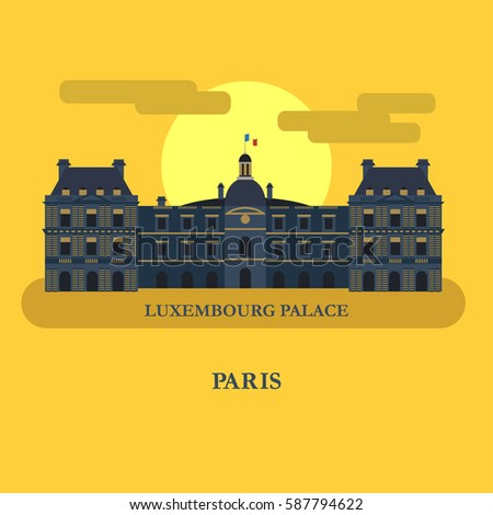 the luxembourg palace paris