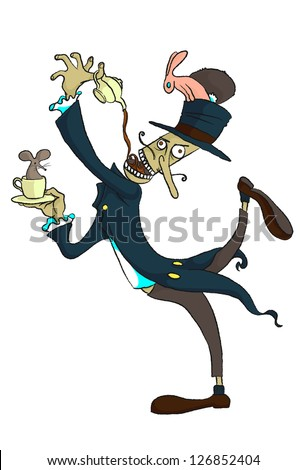 the mad hatter tea-party