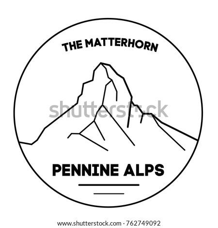 the matterhorn is a mountain of