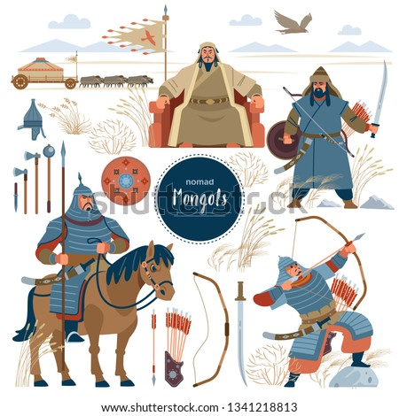 the mongols set mongol nomad