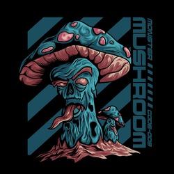 the monster of mushroom zombie
