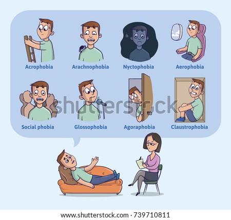 the most common human phobias