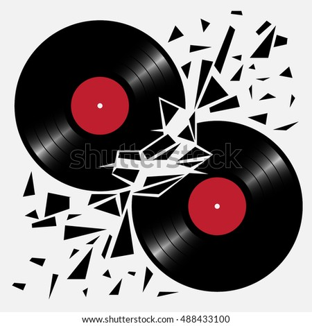 the musical battle crash vinyl