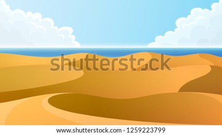 the namib desert dunes and the