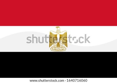 the national flag of egypt