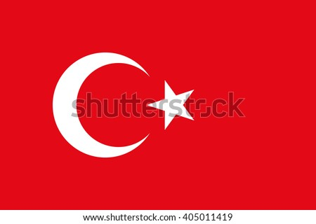 the national flag of turkey