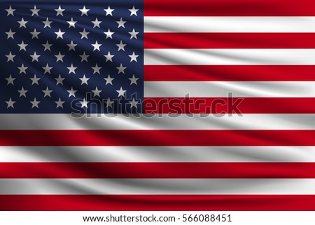the national flag of usa the