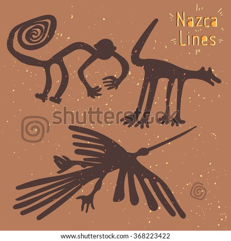 the nazca lines creatures from