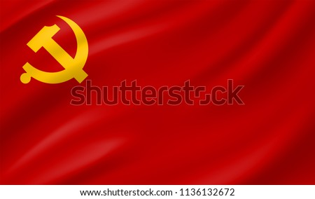 the official flag of the