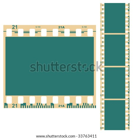 The old film for decoration.