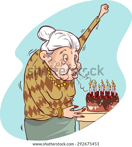 the old woman's birthday