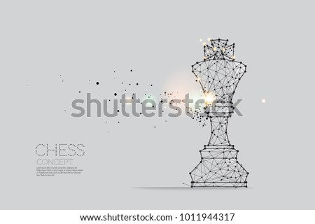 the particles  geometric art