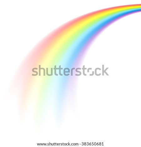 the picture of rainbow in