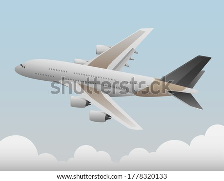 the plane that flies above the