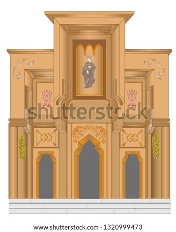 the portal of a christian