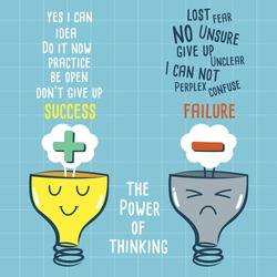 The power of thinking vector
