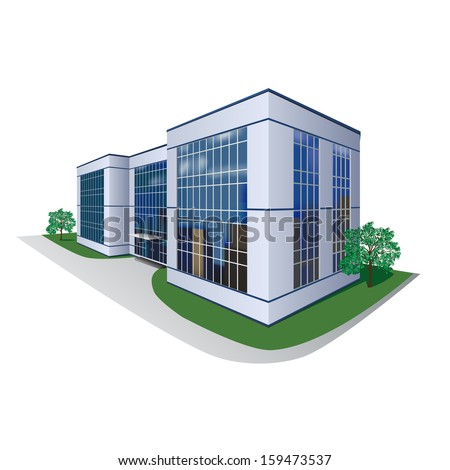 the prospect of building, shopping center, office
