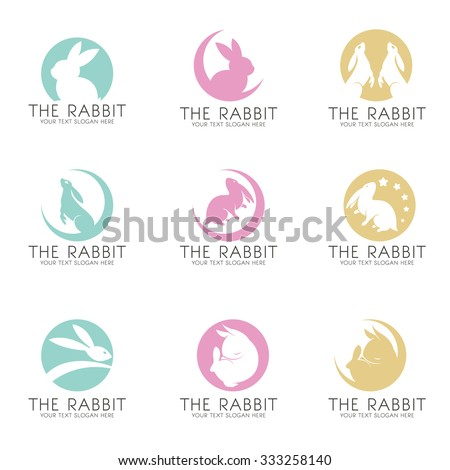 the rabbit on the moon logo