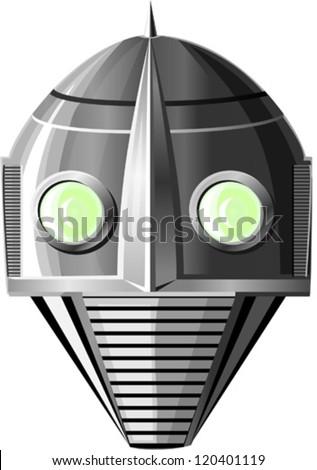 the robot  vector illustration