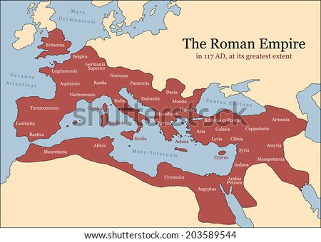 the roman empire at its...