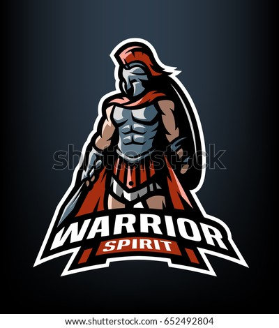 the roman warrior logo