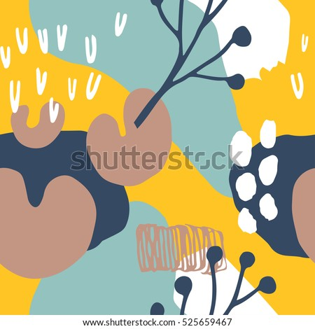 the seamless colorful pattern