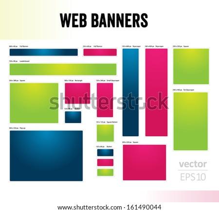 website banner template