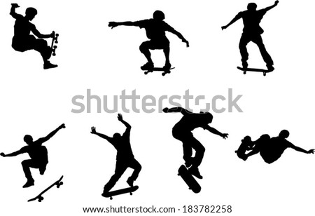 the set of skateboarder