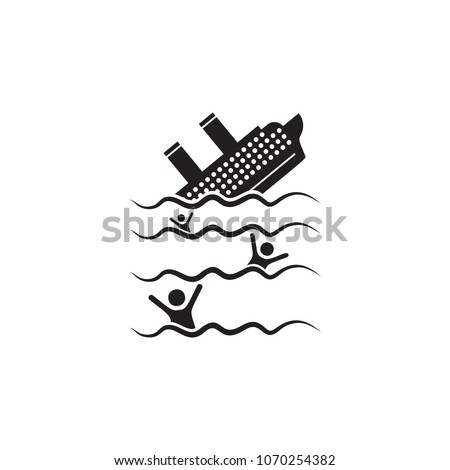 the ship is sinking icon