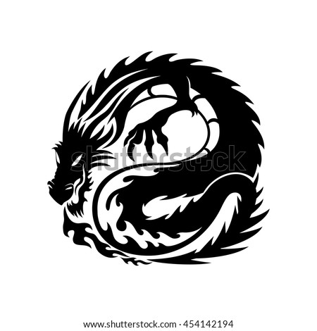 the sign of the dragon on the