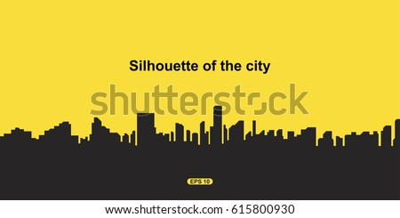 stock-vector-the-silhouette-city-flat-vector-illustration-eps