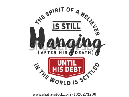 the spirit of a believer is