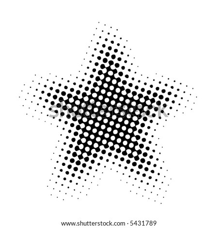 the star (halftone)